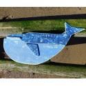Balena din lemn reciclat