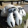 Crab din materiale reciclate