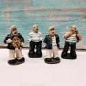 Set 4 Figurine decorative marinari