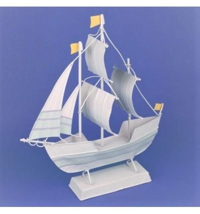 Barca metalica in culori pastel